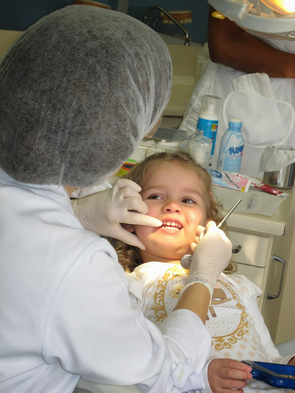 Primeira consulta na odontopediatra