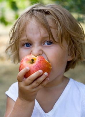 Cuidar do dente de leite ajuda na mastigação da criança